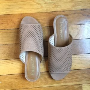 Francesca's Collections Shoes - Open toed mules